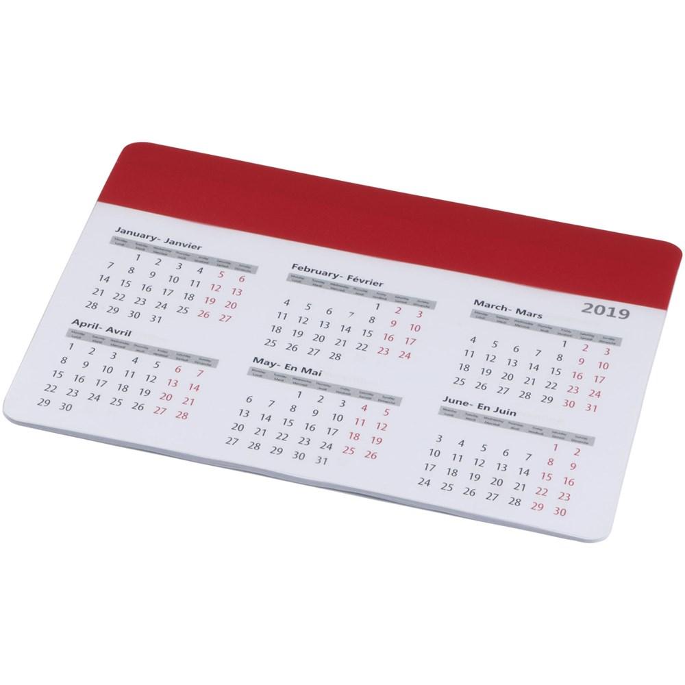 Chart muismat met kalender