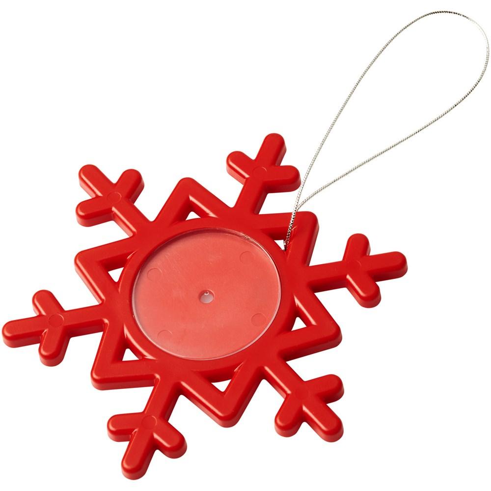 Elssa versiering in de vorm van een sneeuwvlok