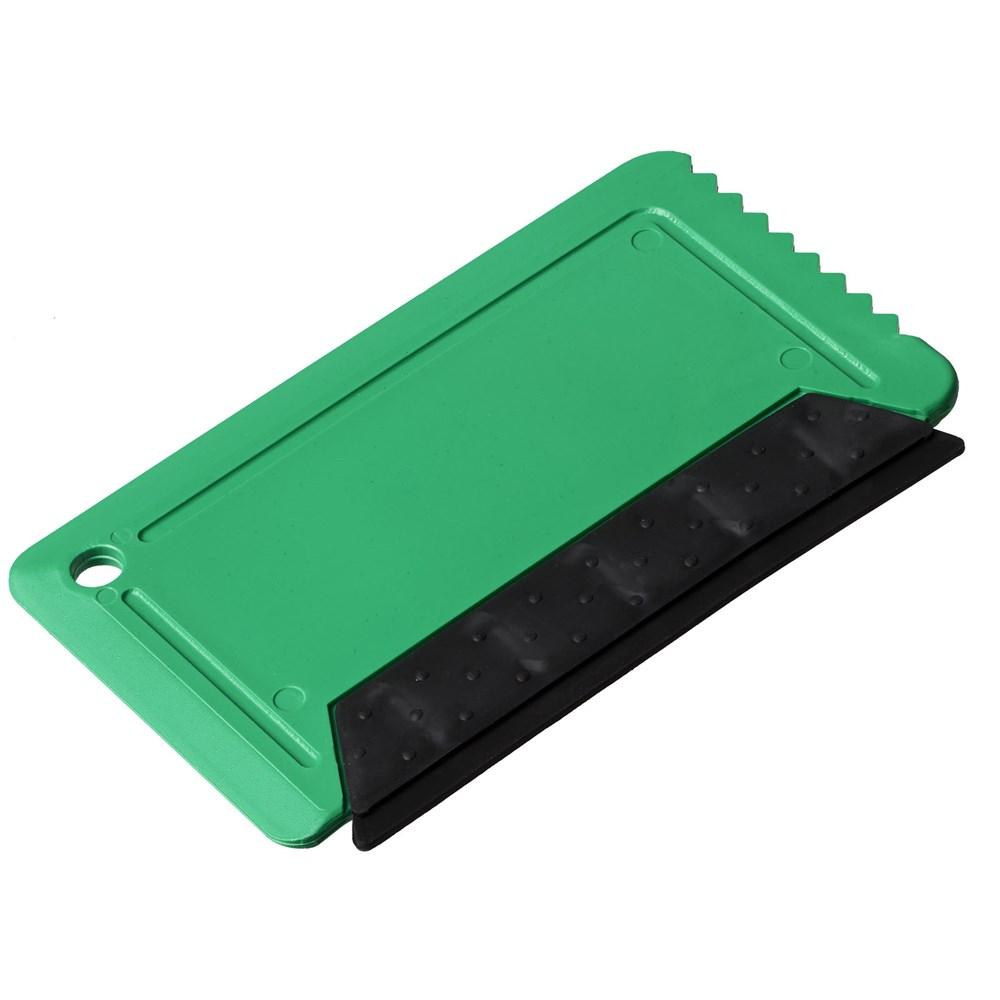 Freeze ijskrabber met rubber in creditcardformaat
