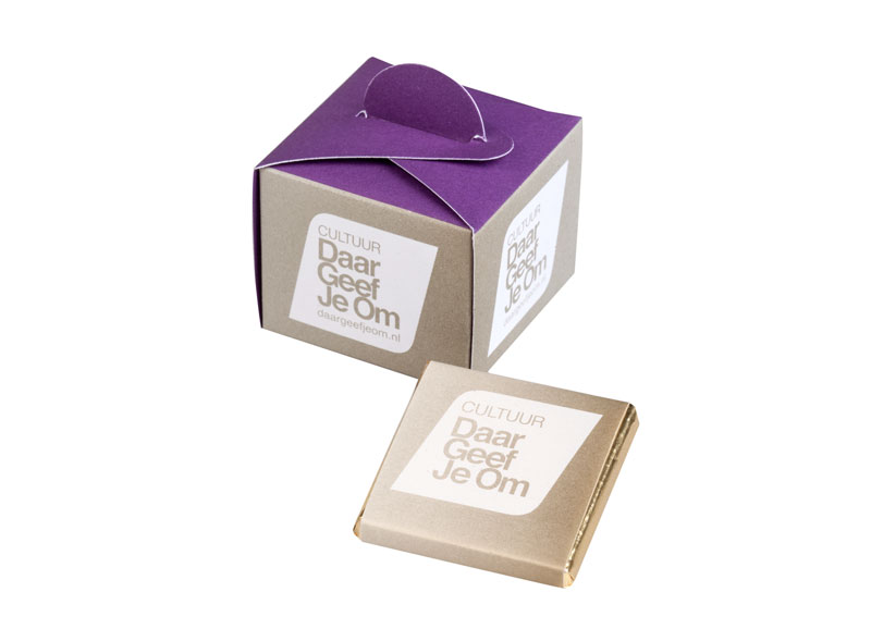 Choco box 5 chocolade carre's