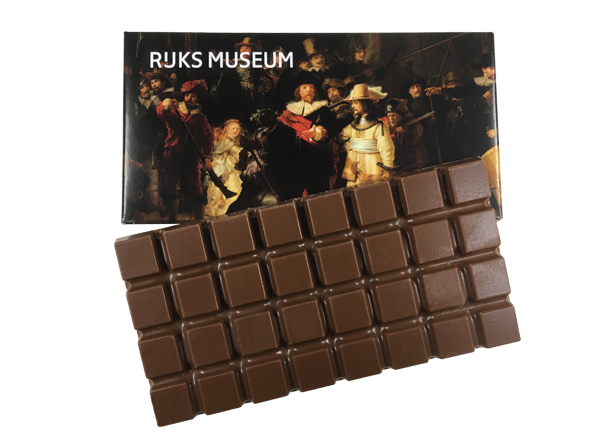 Chocolade tablet