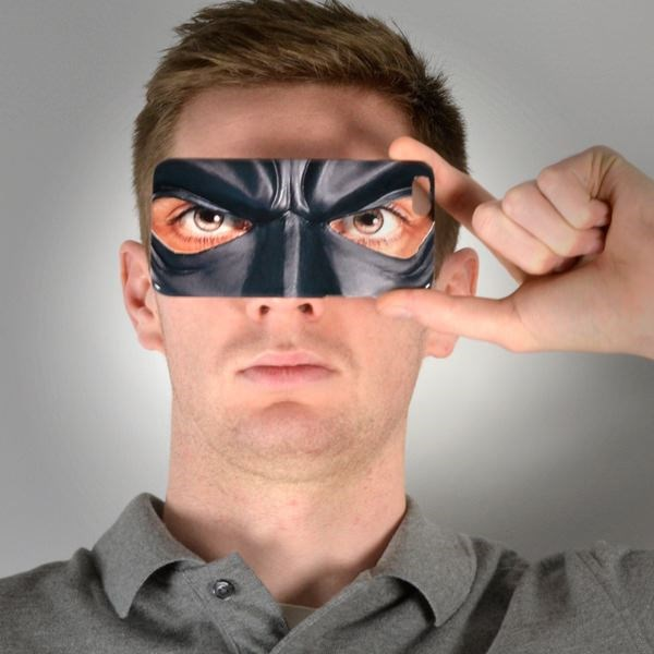 Gotham Masker Telefoonhoesje