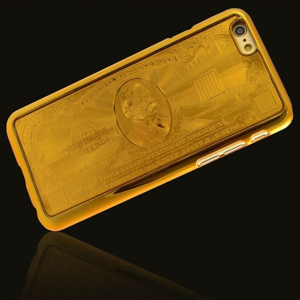 $1k Gouden Bank Briefje Telefoonhoesje