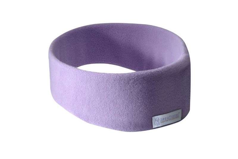 SleepPhones® Draadloos Fleece Lavendel - Medium