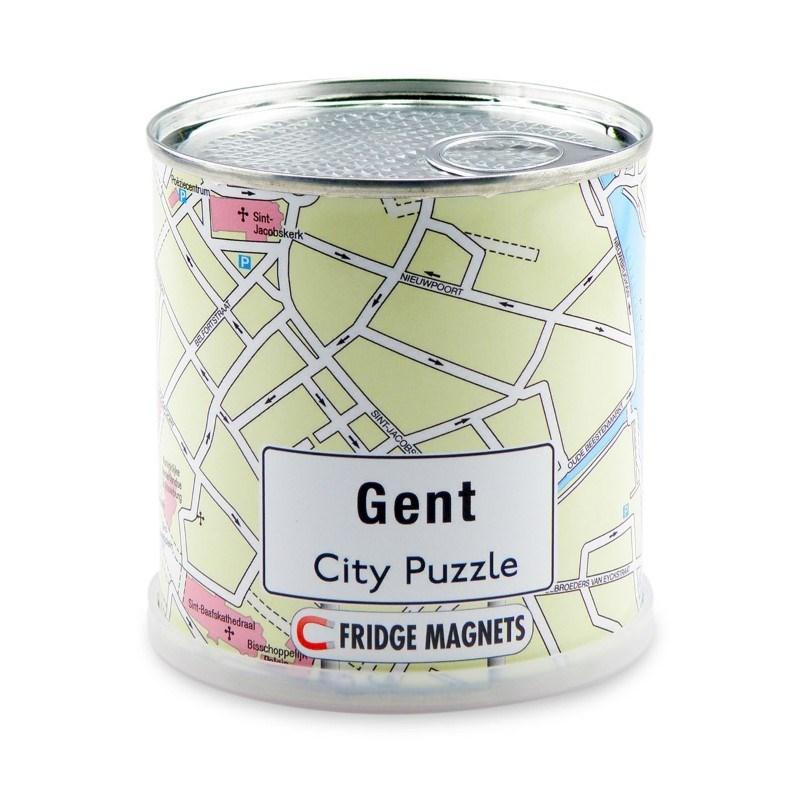 Gent City Puzzle Magnets