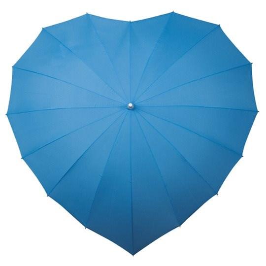 Hart Paraplu - Lichtblauw