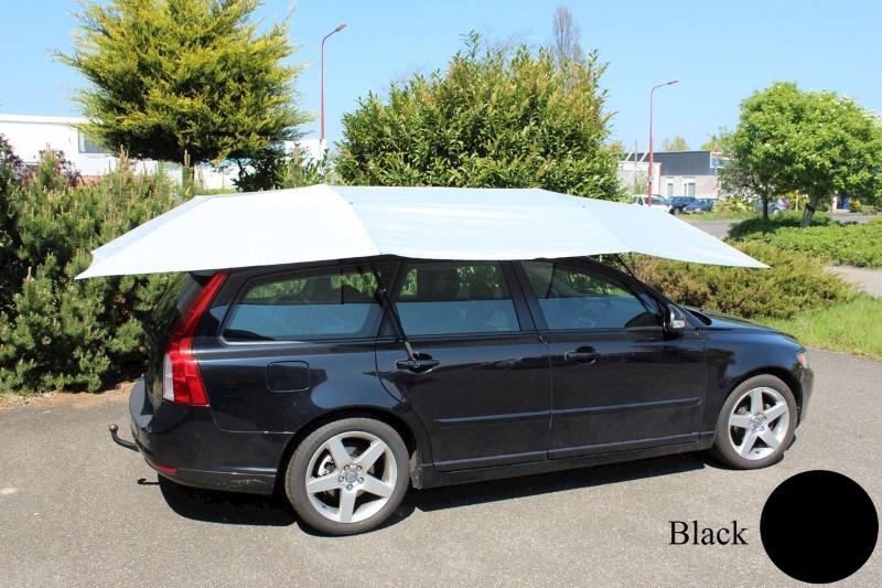 Automatische Auto Paraplu Zonnescherm - Zwart