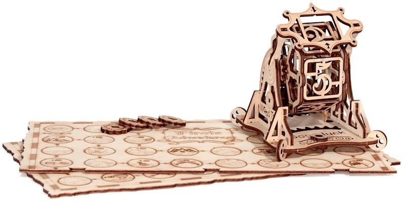 Wood Trick Rad van Fortuin - Houten Modelbouw