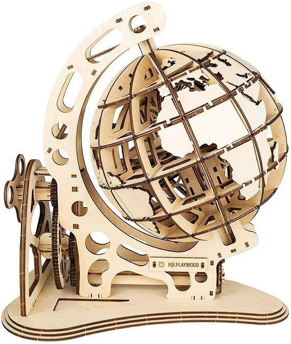 Mr PlayWood Globe - Houten Modelbouw
