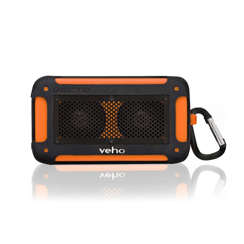 Veho™ 360° Vecto Mini Draadloze Waterbestendige Speaker – Oranje