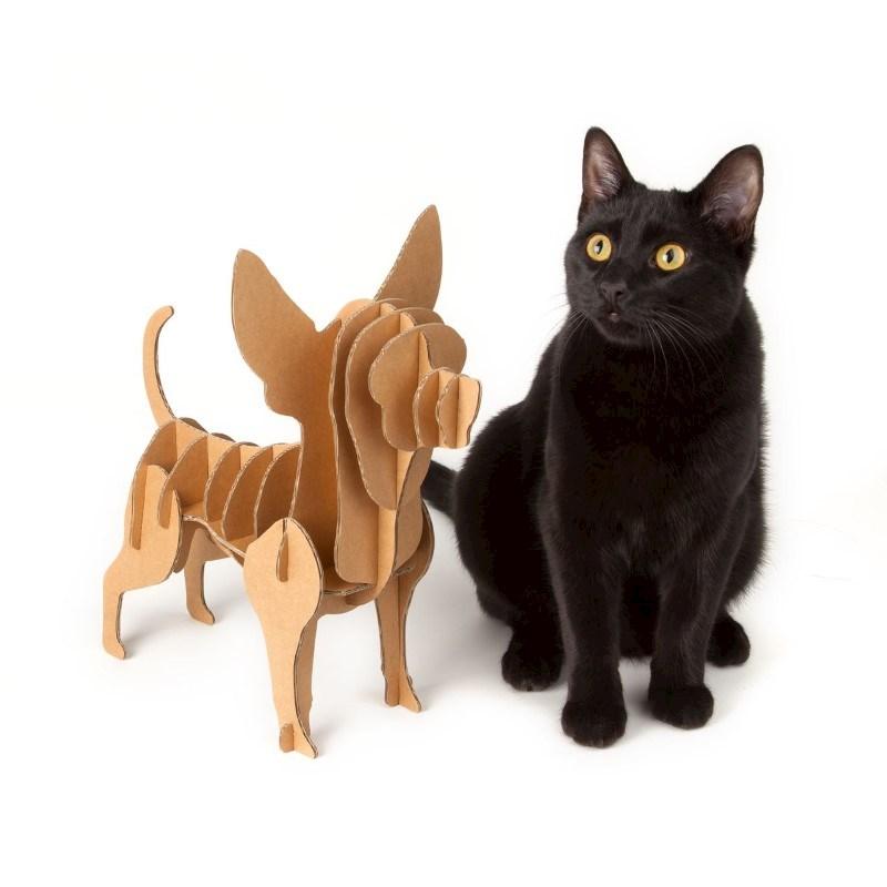 Milimetrado - Chihuahua van Karton - Decoratief opbergrek