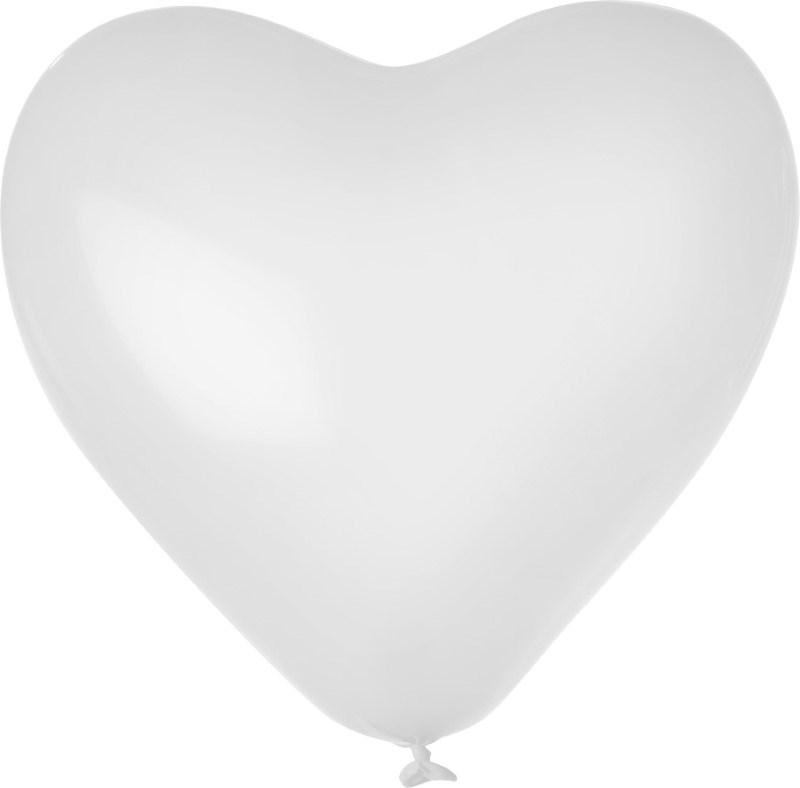 Hartballon onbedrukt