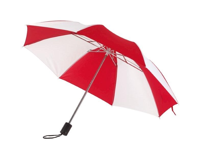 Opvouwbare, uit 2 secties bestaande manueel te openen paraplu REGULAR
