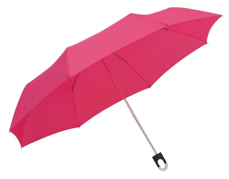 Manueel te openen uit 3 secties bestaande paraplu