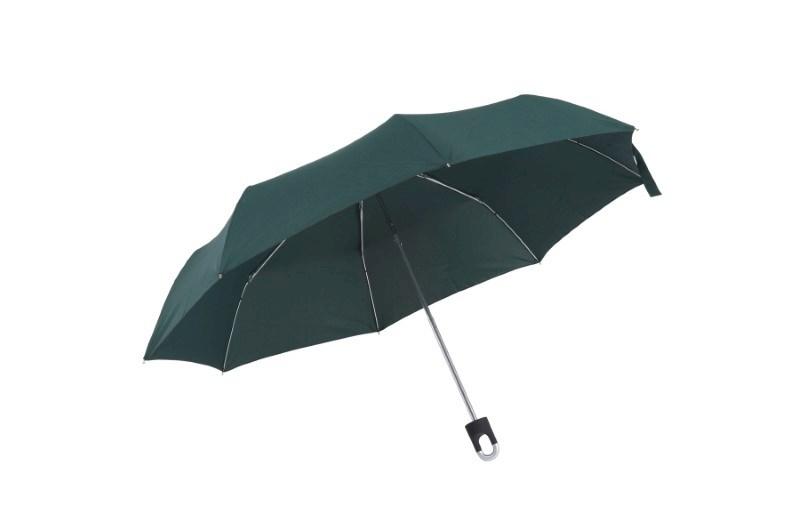 Manueel te openen uit 3 secties bestaande paraplu TWIST