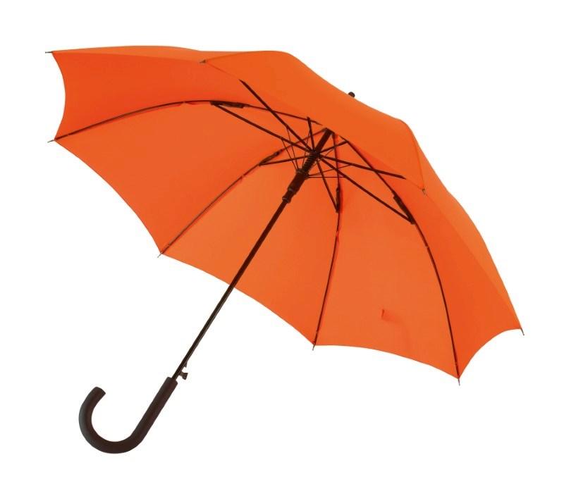 "Autom. Windproof-Umbrella,""Wind"", orange"