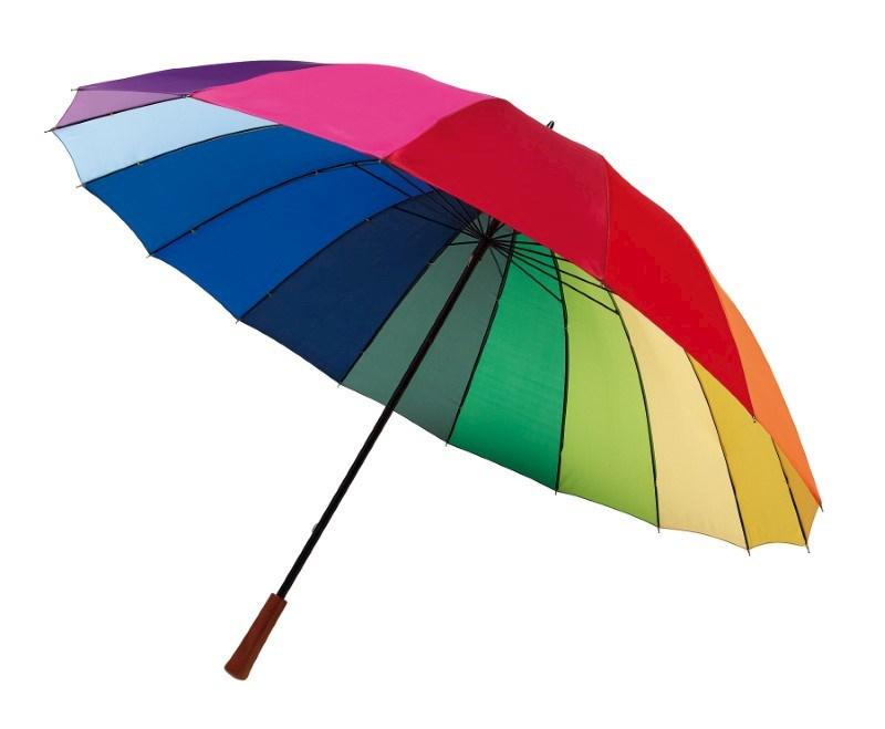 Golfparaplu in regenboogkleuren RAINBOW SKY