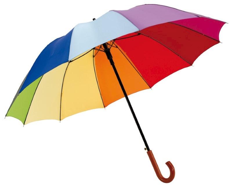 Automatische golfparaplu RAINBOW LIGHT