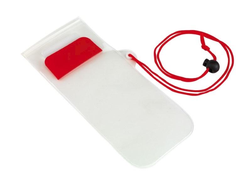 Transparant spatwaterdicht telefoontasje SMART SPLASH