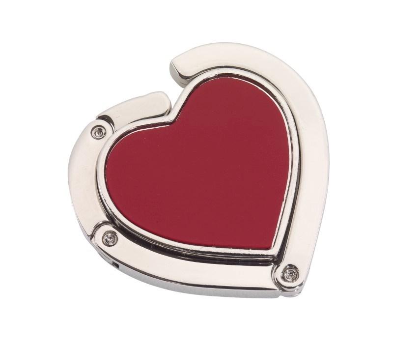 Hartvormige uitklapbare tashanger DESIRE
