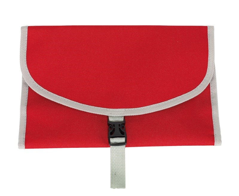 Toilet bag'Fresh up' 600d, red