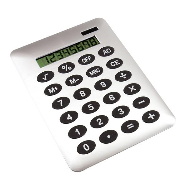 """10-cijferige dual power rekenmachine """"Buddy"""""""