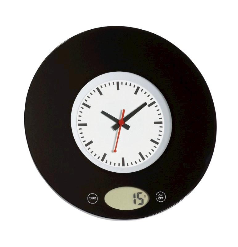 "Kitchenscale ""Time"", black"