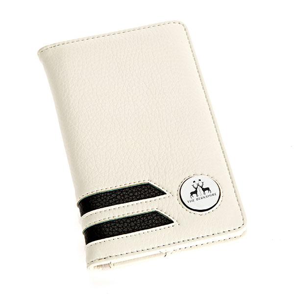 Faux Leather Scorecard Holder
