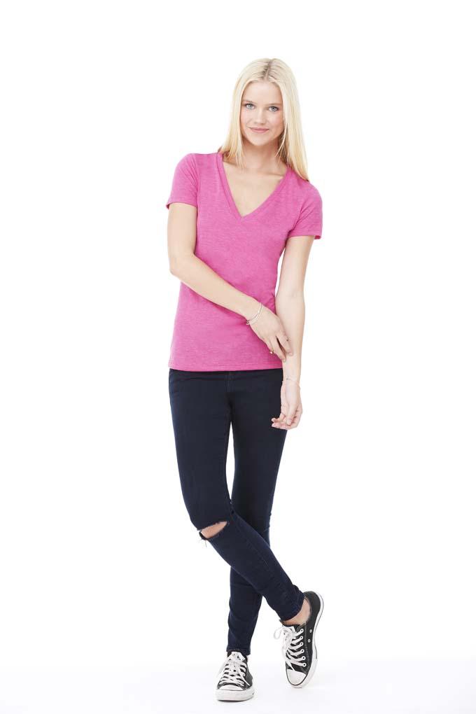 Bel+Can T-shirt V-neck Tribl for her