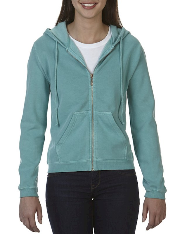 ComCol Sweater Hooded Full Zip for her