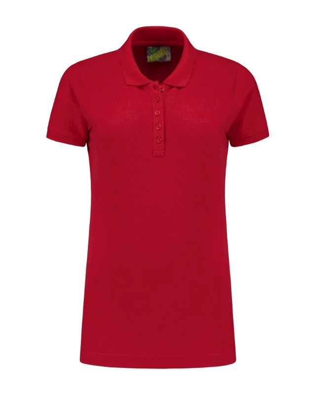 L&S Polo Basic CotElast SS for her