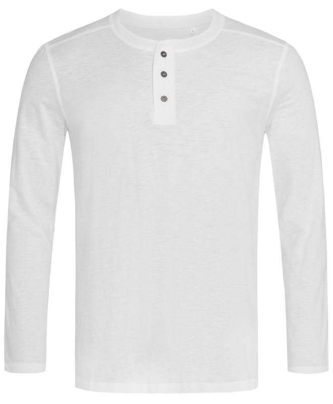 Stedman T-shirt Henley Shawn LS for him
