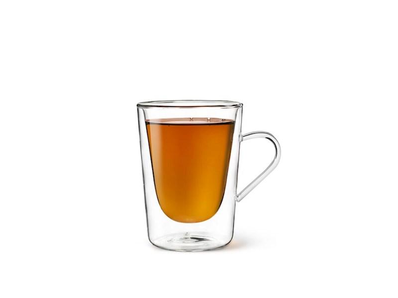 Dubbelwandig Koffie- en Theeglas, 29,5cl, set van 2