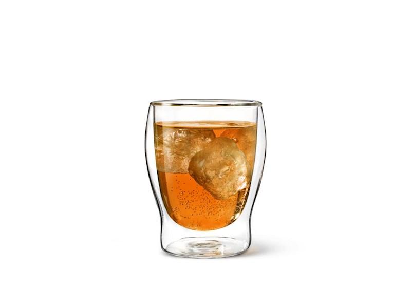 Dubbelwandig drinkglas, 35 cl, set van 2