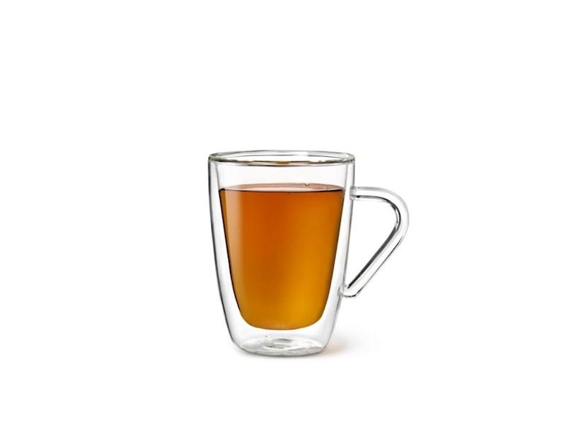 Dubbelwandig glas Thee, 32 cl, set van 2
