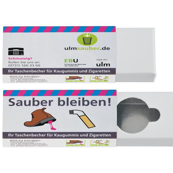 Eco-Asbak UMWELTASCHENBECHER   ECO-ASHTRAY (offset