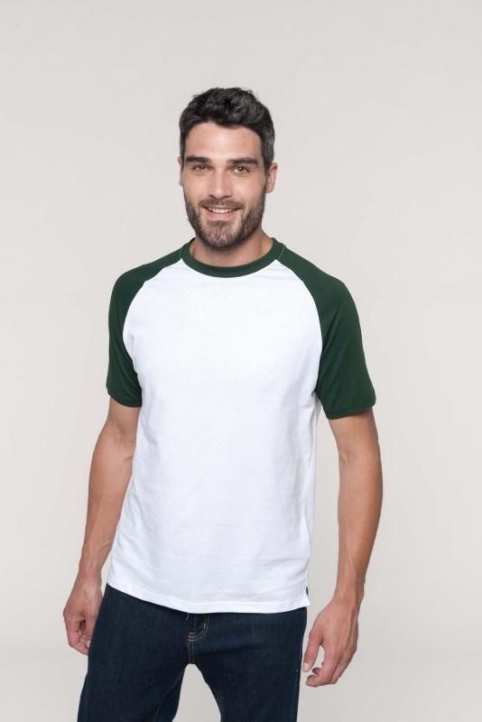 Baseball - Tweekleurig T-shirt