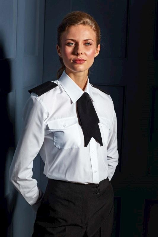 Ladies' Long Sleeve Pilot Shirt