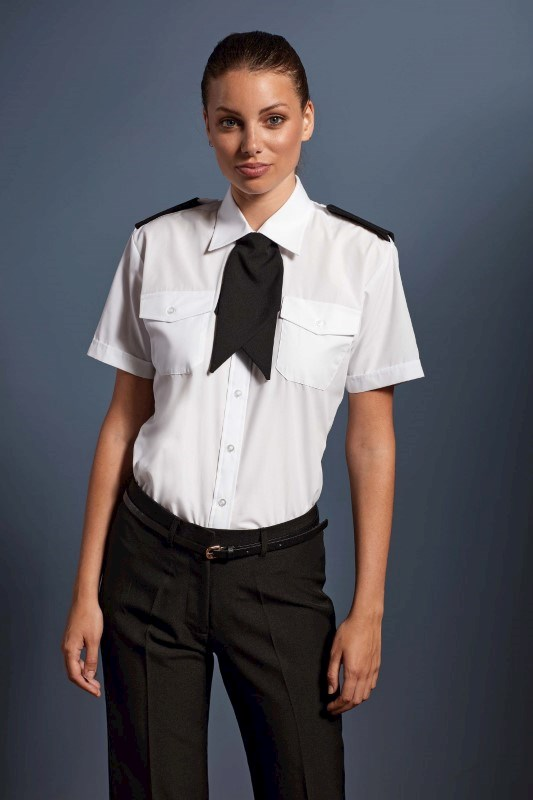 Ladies Pilot Short Sleeved Shirt