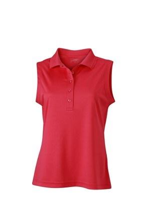 Ladies' Active Polo Sleeveless