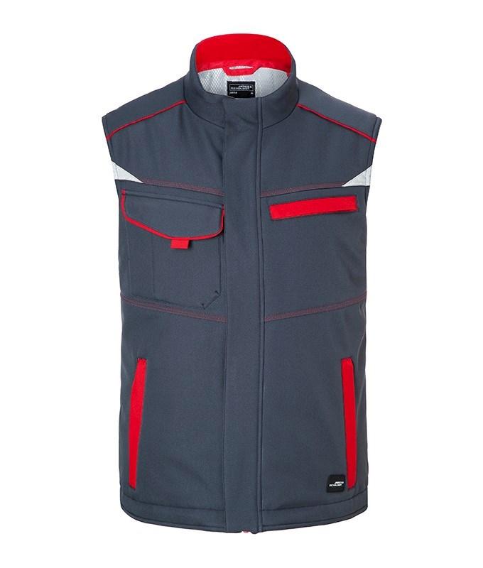 Workwear Softshell Padded Vest-Level 2