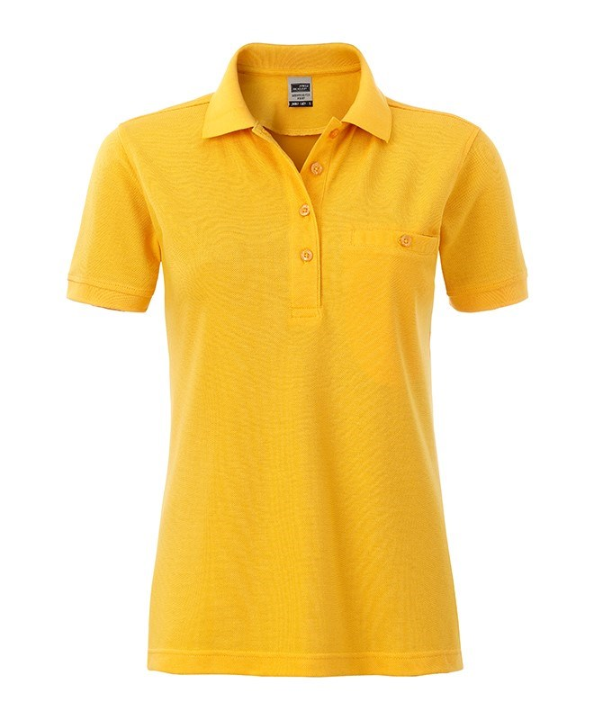 Ladies' Workwear Polo Pocket