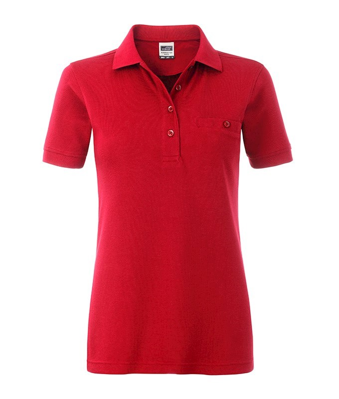 Ladies' Workwear Polo Pocket
