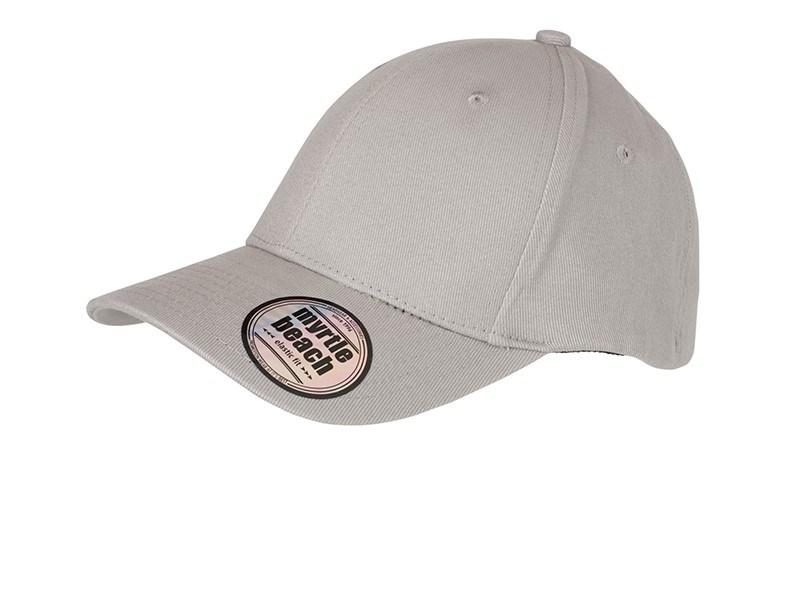 6 Panel Elastic Fit Baseball Cap
