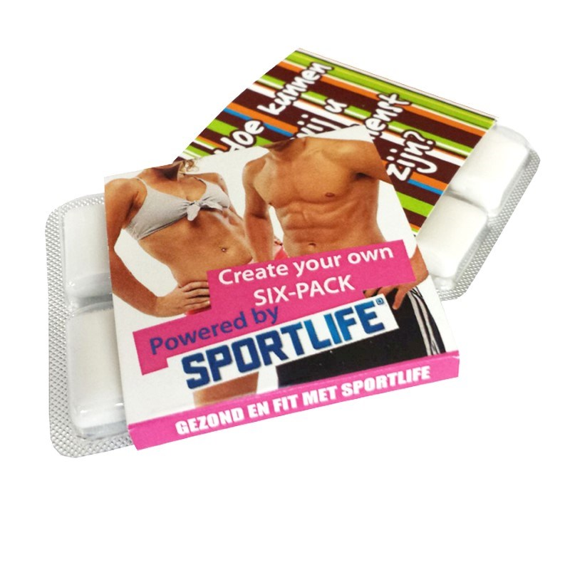 Sportlife® kauwgom 6-pack