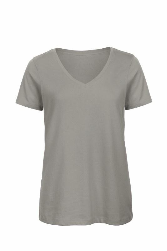 Organic V-neck T-shirt women