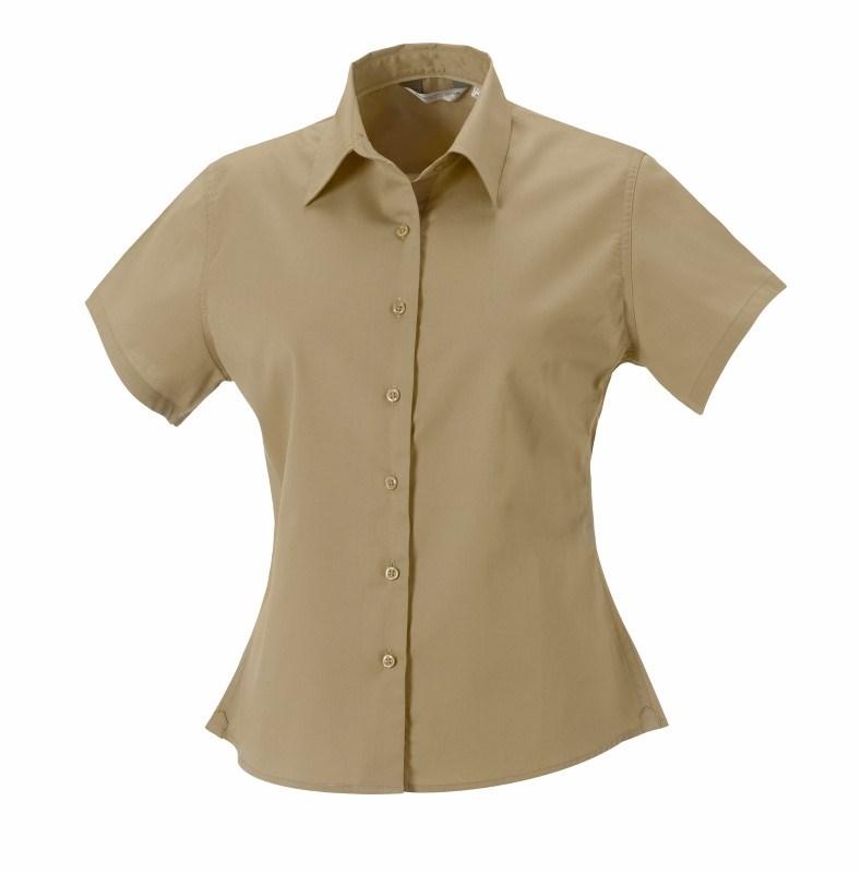 Ladies ss Classic Twill Shirt