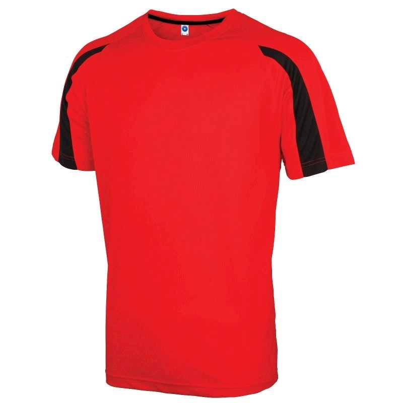 Unisex Contrast Performance T-shirt