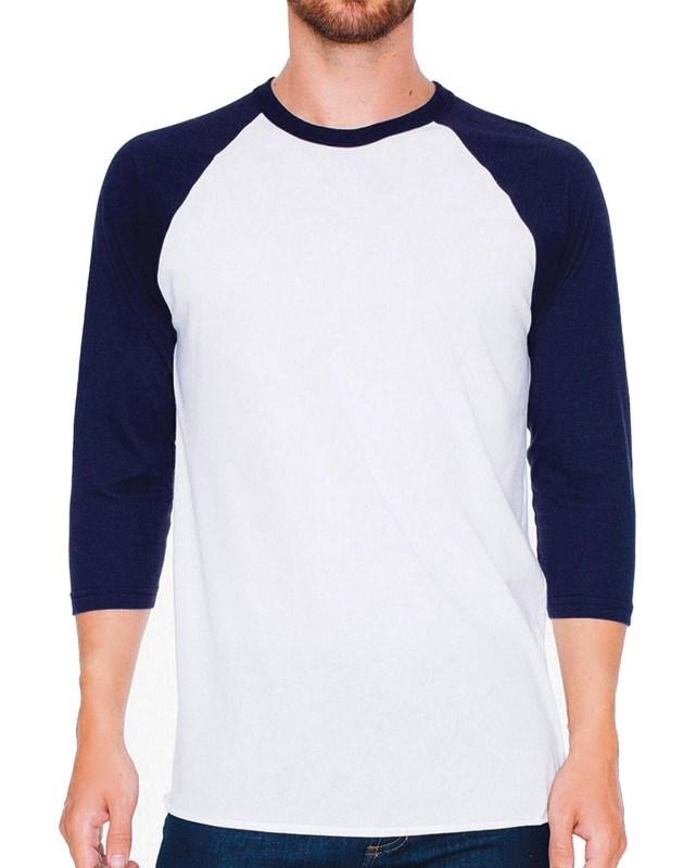 Unisex Poly-Cotton 34 Sleeve Raglan T-Shirt