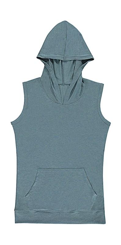 Cecilia Women`s Sleeveless Hooded T-Shirt